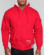 Cold Weather- MEN - Sleeve pocket shera lining hoodie