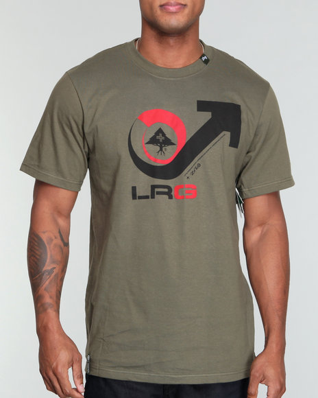 LRG Men Olive Vicious Cycle Tee