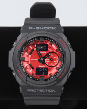 G-Shock by Casio - GA-150MF-1A Black Band w/ Red Face watch