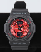 Men - GA-150MF-1A Black Band w/ Red Face watch
