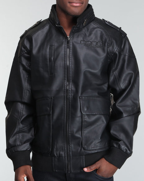 cdeefeca07f5 Description  Coogi Men Vegan Leather Fashion Jacket - Outerwear E-Store   DrJays.com. Price   129.99. Click the Image to Buy Now