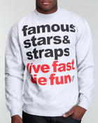 Famous Stars & Straps - Simple Crewneck Sweatshirt