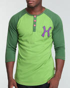 Men - Hudson Kush Kings Raglan Henley
