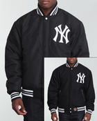 Cold Weather- MEN - New York Yankees Wool REV0 Reversible Jacket