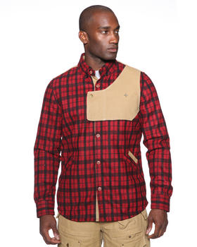 Psyberia - Heavyweight Urbaneer Flannel Shirt