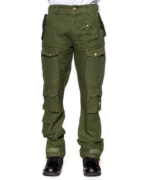 Psyberia - Utilitarian Heavyweight Twill Pant