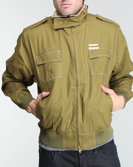Live Mechanics Olive Victors Only Jacket