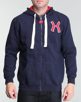 Hudson NYC - Hudson H Fleece Zip - Up Hoodie