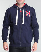 Cold Weather- MEN - Hudson H Fleece Zip - Up Hoodie