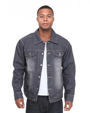 Men - Khalif Washed Denim Jacket