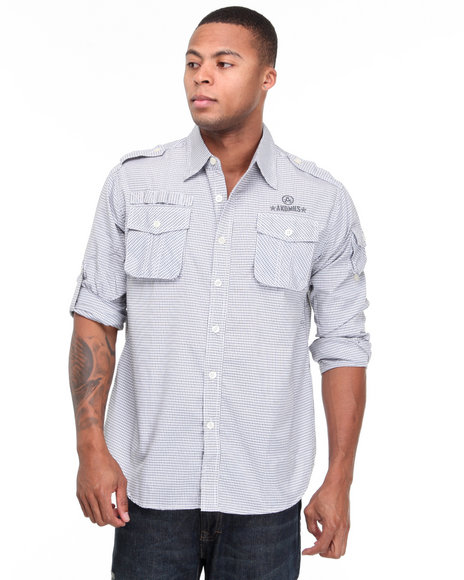 - Captain Roger Military Shirts with Prints