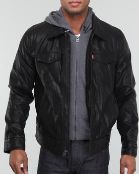 Levi's - Trucker w/ attached cotton Hoodie Jacket