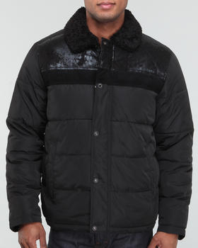 Sean John - Sherpa Mixed Quilt Jacket