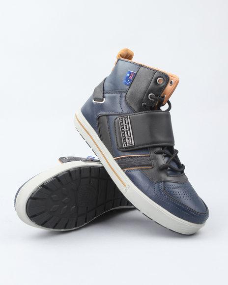 COOGI Men Navy Monarque Strap Hi Sneakers