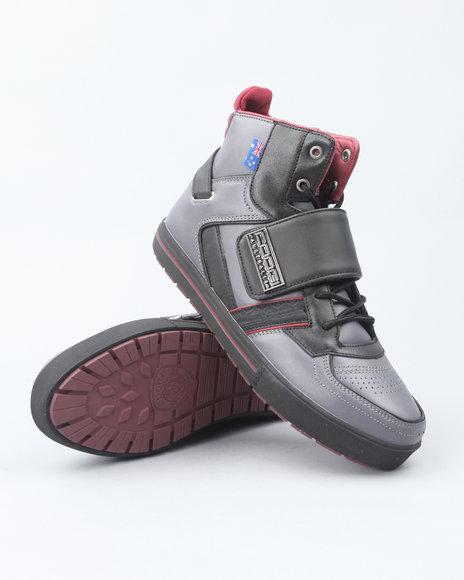 COOGI Grey Monarque Strap Hi Sneakers