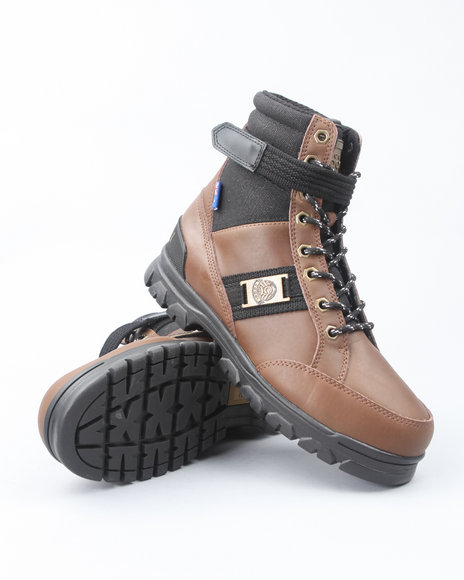 COOGI Men Brown Prophecy Rugged Boots