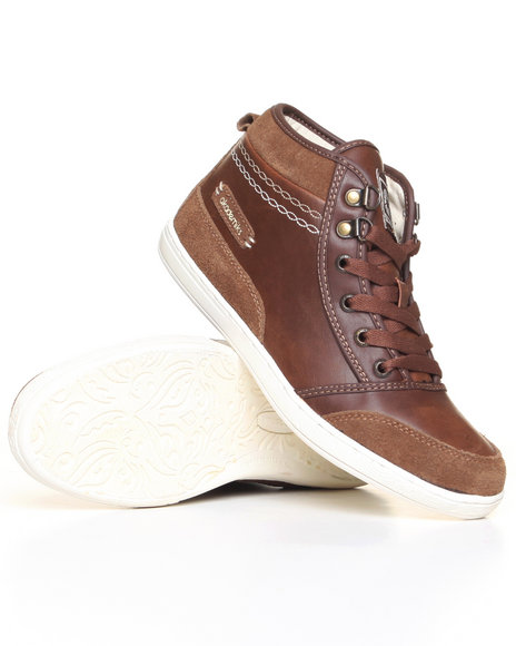 - Leather/Suede Sneaker
