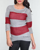 Sweaters - Stripe sailor sweater