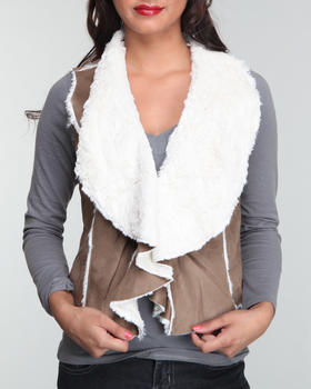Basic Essentials - Faux Shearling Vest