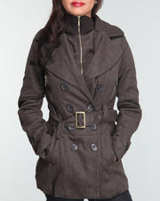 Outerwear - Twill wool coat