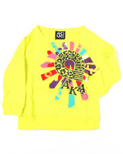 4-6X Little Girls - Justina Raglan Long Sleeve Tee (4-6X)