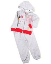 Girls - 2pc Printed French Terry Set (INF)