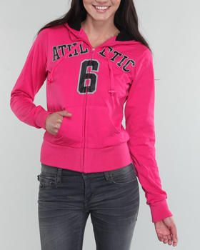 Fashion Lab - Athletic Hoodie Jacket