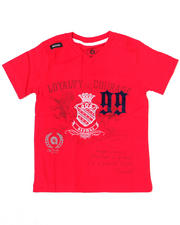 4-7x Little Boys - Loyalty V Tee (4-7)