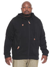 Men - Carl Lewis Fleece Zip Jacket