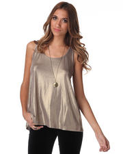 DJP OUTLET - Sinead Metallic Tank