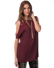 Women - Hugo Opaque Cutout Shoulder Tunic
