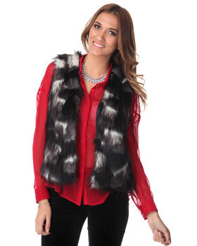 DJP OUTLET - Lexi Faux Fur Vest