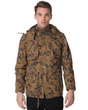 DJP OUTLET - Standard Camo Jacket