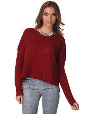 Women - Laurine Cable Knit Sweater