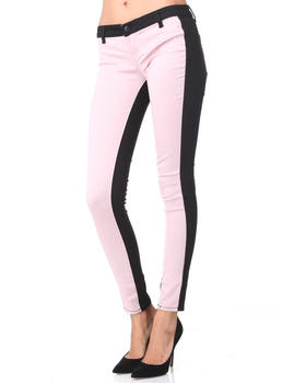 DJP Boutique - Color blocked skinny jean pants