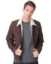 DJP OUTLET - Sherpa Corduroy Jacket