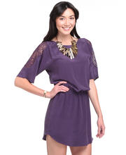 DJP OUTLET - The Olivia Lace Shoulder Dress