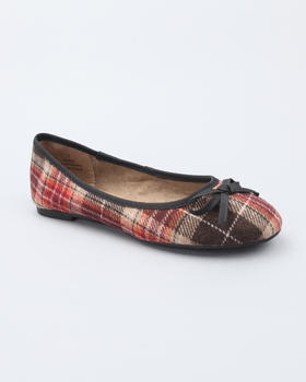 Fashion Lab - Plaid flat