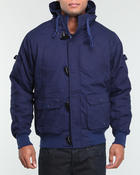 Deals-Men - Ski Slope Multi - Pocket Snorkel Coat