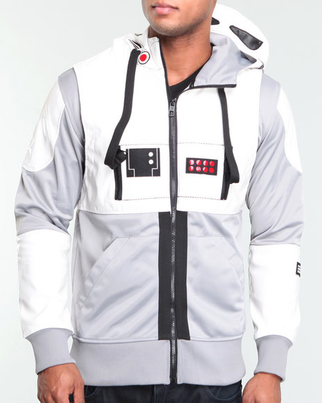 Star Wars Where You At at Driver Jacket Grey,white