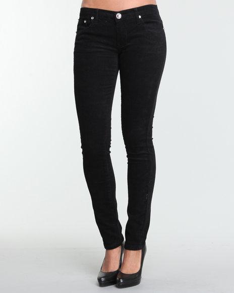 black corduroy pants womens - Pi Pants