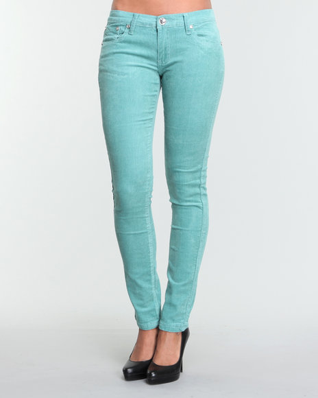 Basic Essentials Teal Pants