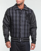 Winchester - Plaid Varsity Jacket