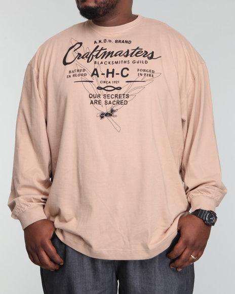 Akoo Men Craftmasters L/s Tee - Shirts