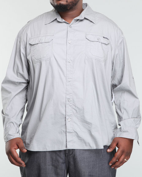 Ecko - Men Grey Long Sleeve Imaginative Shirt (B&T)
