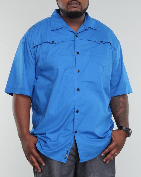 Enyce Men Blue Rush Shirt (B&T)