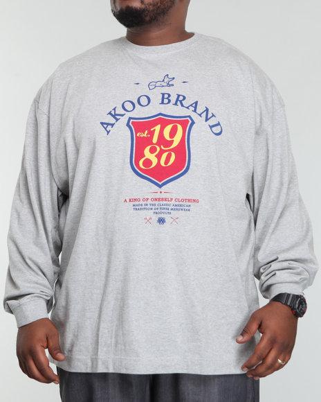 Akoo Men Est 1980 L/s Tee - Shirts