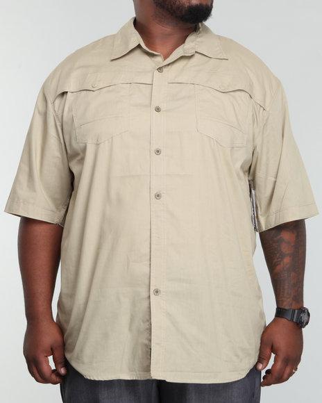 Enyce Men Khaki Rush Shirt (B&T)