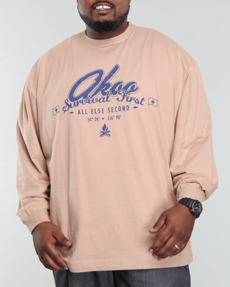 Akoo Men Survival First L/s Tee - Shirts