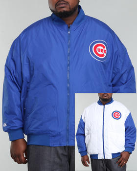 NBA, MLB, NFL Gear - Chicago Cubs Reversible Driver Jacket (B&T)